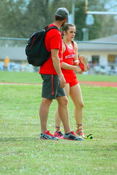 WHS Track & Field @ Belle Plaine HS  040919