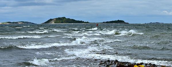 Boston Harbor Islands - Peddocks, Lovells and Georges (August 19)