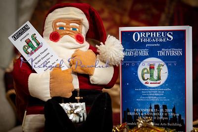 The Orpheus Theatre presents Elf the Musical
