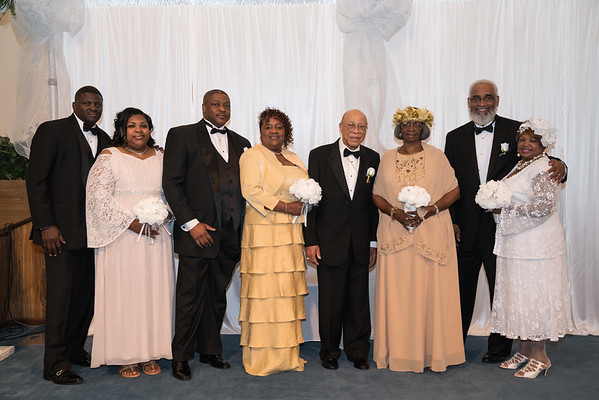 Greater Harvest COGIC Vow Renewal Ceremony