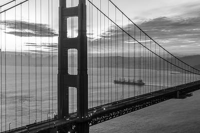 2019 - 01 Golden Gate Bridge Sunrise