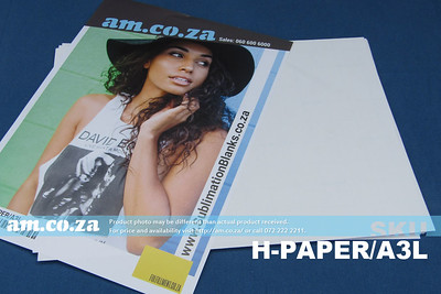 SKU: H-PAPER/A3L, Heatware A3 White Sublimation Paper for All Kinds of Fabric and Cotton