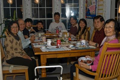 Thanksgiving Dinner 2007