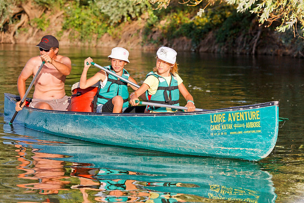 Séquence canoe