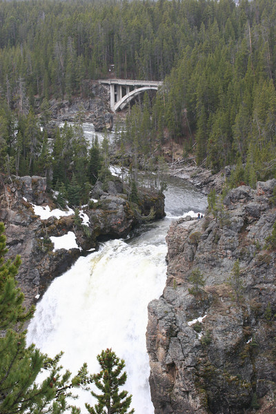 Upper Falls of the Yellowstone River