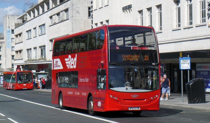 512 - WF63LYW - Plymouth (Royal Parade)