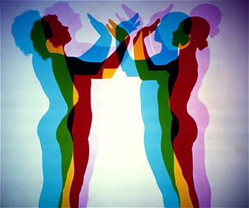 Tri-Colour Dancers