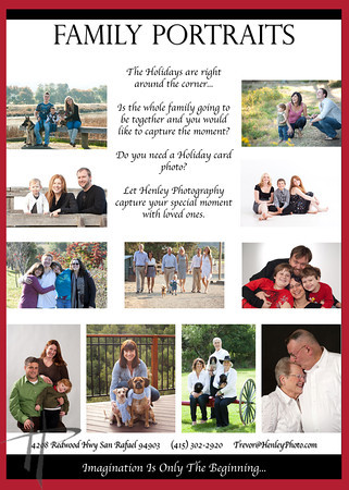 Family Portrait Brochure