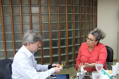 19-07-2019 REUNIÃO COM INSTITUTO DE CULTURA E MEIO AMBIENTE