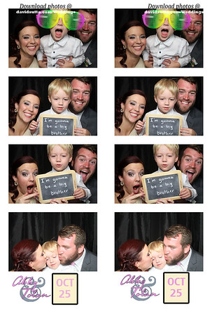 Abby and Tolan Photo Booth