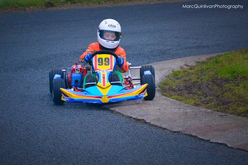 Tullyallen Karting Club - 2013 Winter Championship - Round 2 - Athboy - Alyx Coby