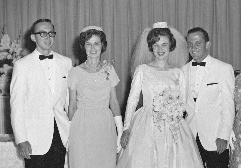 1965 Annie and John Wedding with parents crop.jpg