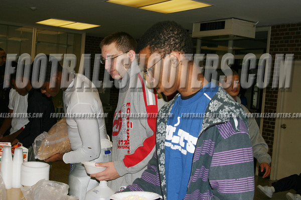 2007 TEANECK HIGH PREGAME BREAKFAST