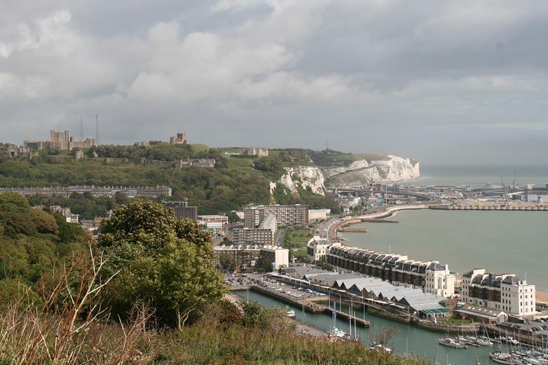 The White Cliffs Of Dover & Dover Castle