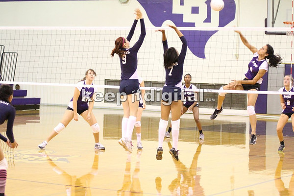 Reagan vs LBJ VBall 10-11-11