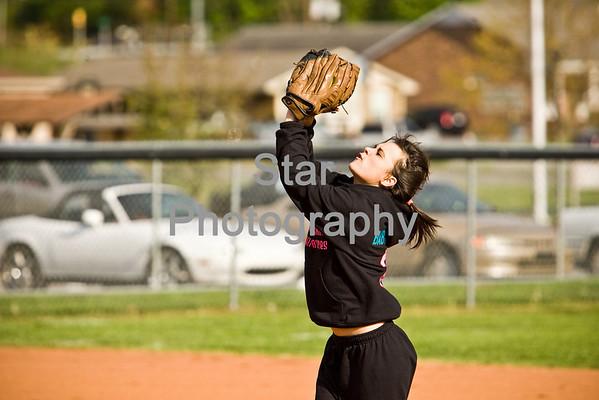 Softball: North at Elizabethton (04-21-09)