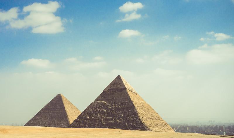 Vista del Cairo