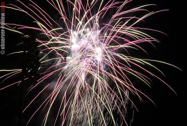 Hammondsport Fireworks 2012
