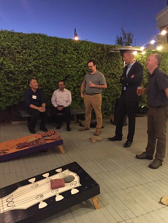 2019 Faculty Cornhole Sessions