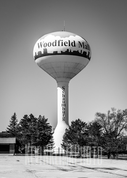 Woodfield Mall Water Tower