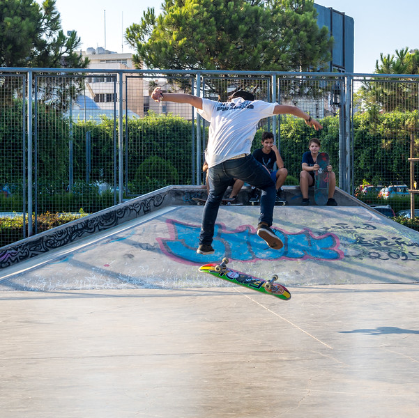 Skater in Limassol