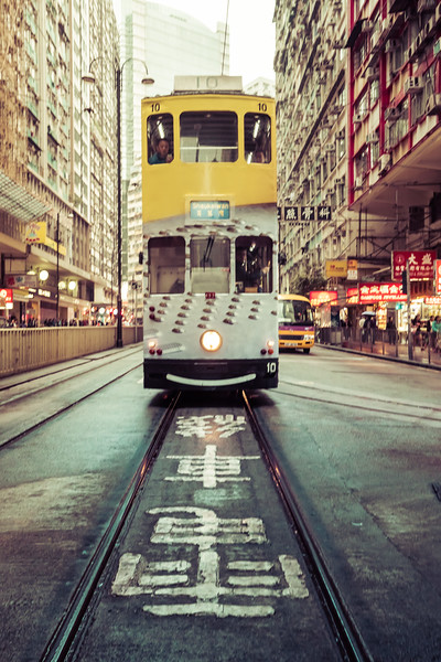 The Old Trams of Hong Kong
