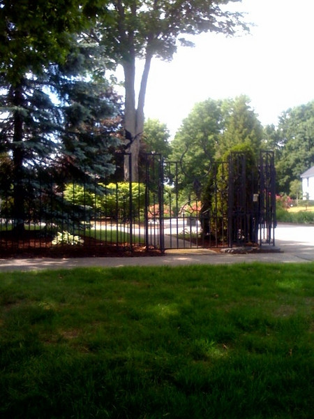 Stephen King's gate.JPG