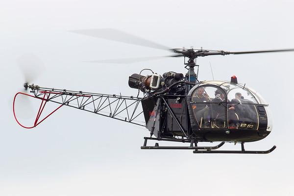 F-GKBS - Sud SA-313B Alouette II