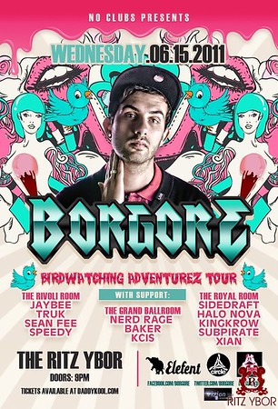 "BORGORE ""Birdwatching Adventure Tour"" June 15, 2011"