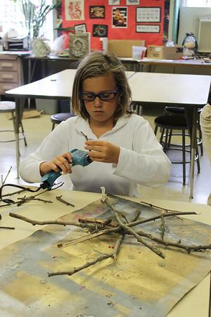 4th Grade Fallen Branch Construction