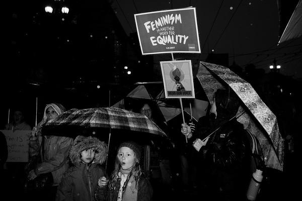San Francisco Womens March - 01/21/2017