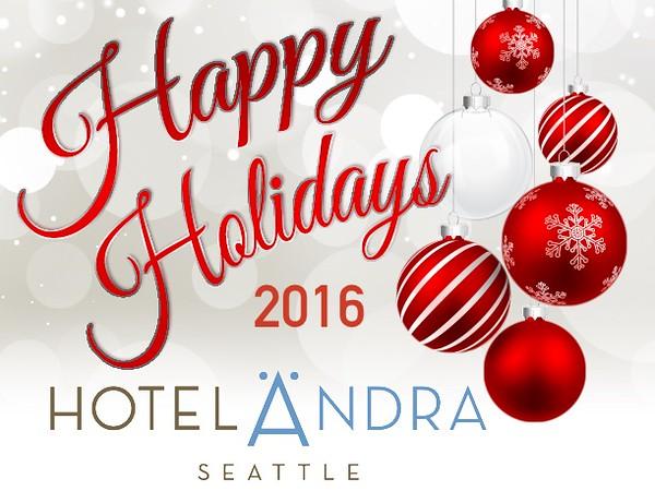 Hotel Andra Holiday Party