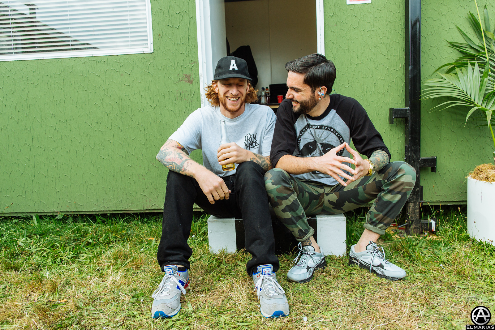 Will Levy of The Story So Far and Jeremy McKinnon of A Day To Remember