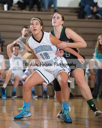 Ladies Varsity Basketball - Williamston at LCC