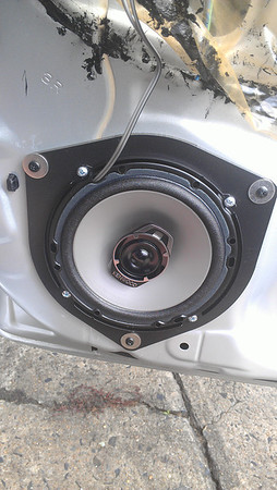 2008 Toyota Corolla Ascent Front Speaker Installation - Australia