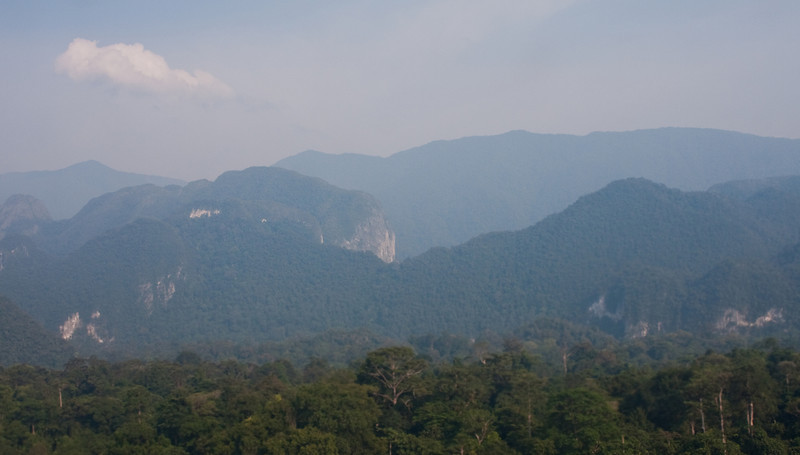 The mountains of Gunung Mulu
