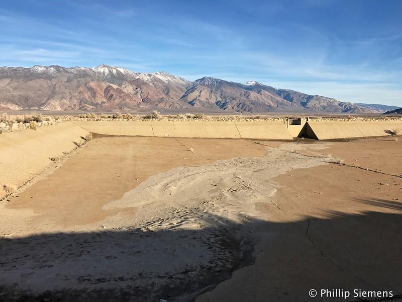 Manzanar water storage