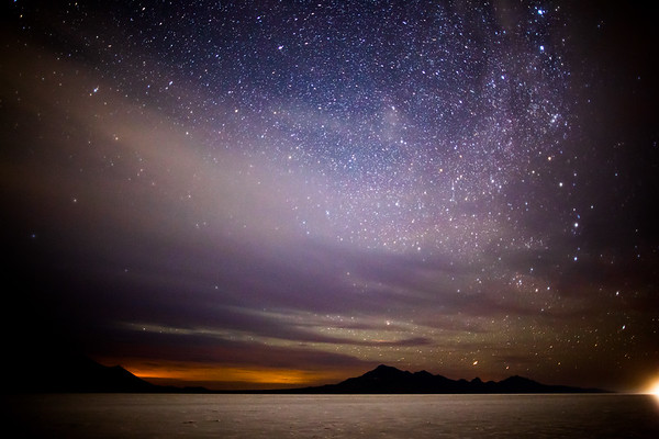 Milky Way at Bonneville Salt Flats