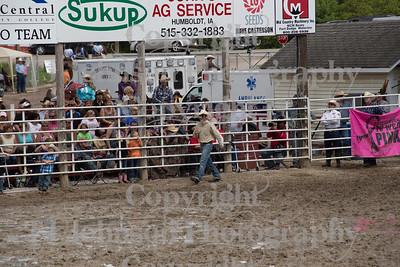 2014 Dayton Rodeo Bareback - Monday