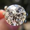 3.86ct Old European Cut Diamond GIA K VS2 50