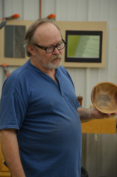 Woodturning with Lacer [June '13]