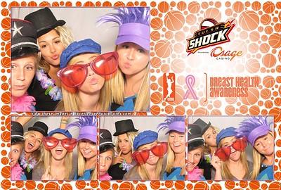 Tulsa Shock Breast Health Awareness Night