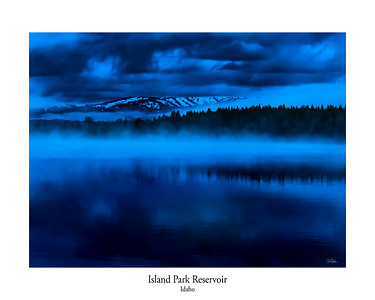 Storm Over Island Park Reservoir, Idaho