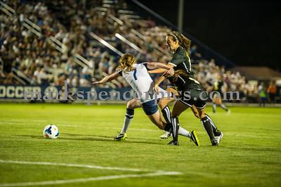 BYU Soccer vs Colorado 9-20-2014