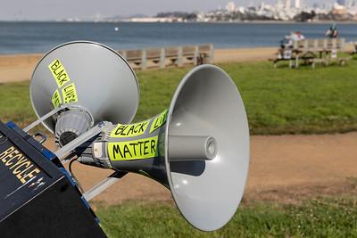 Aug 21 March for the Dead - Golden Gate Bridge