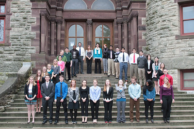 2013 Chimes Junior Class Honorary Profile and Group Photos