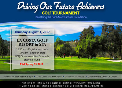 2017 Core-Mark Family Foundation Golf Tournament