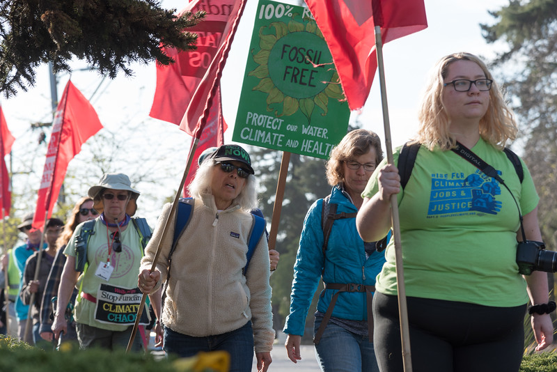 Oily Wells - The March for Fossil Fuel Freedom