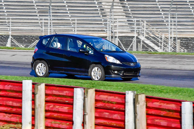 2020 OVR SCCA Oct 16 MO TrackDay Blk Honda Fit 02