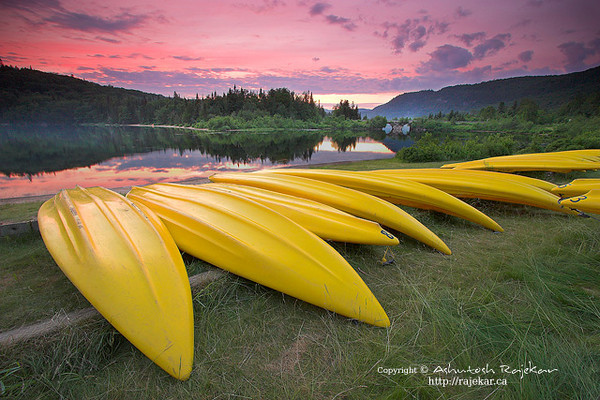 Idle Kayaks in Parc National du Mont Tremblant
